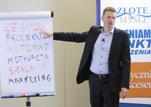 Marcin Kądziołka - szkolenie