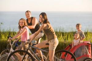 Wycieczka rowerowa z rodziną